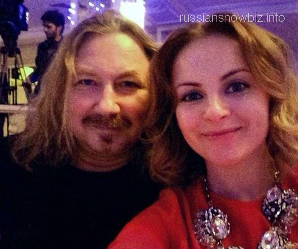 Игорь Николаев и Юлия Проскурякова на презентации альбома Владимира Левкина