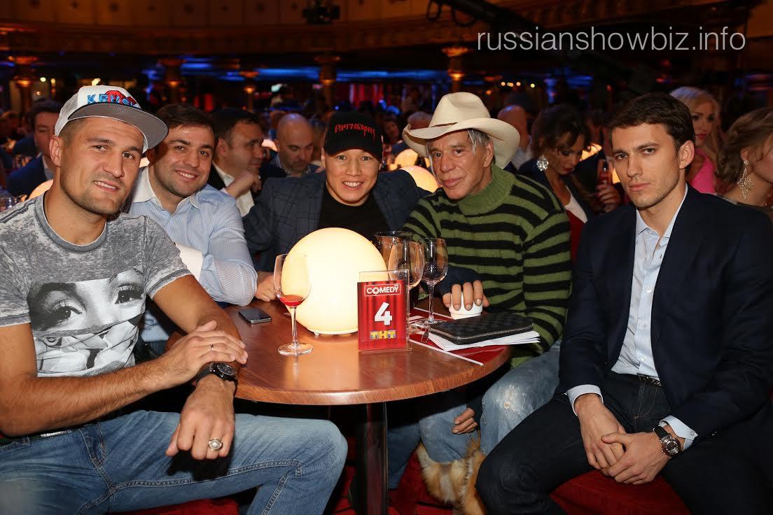 Микки Рурк в Comedy club