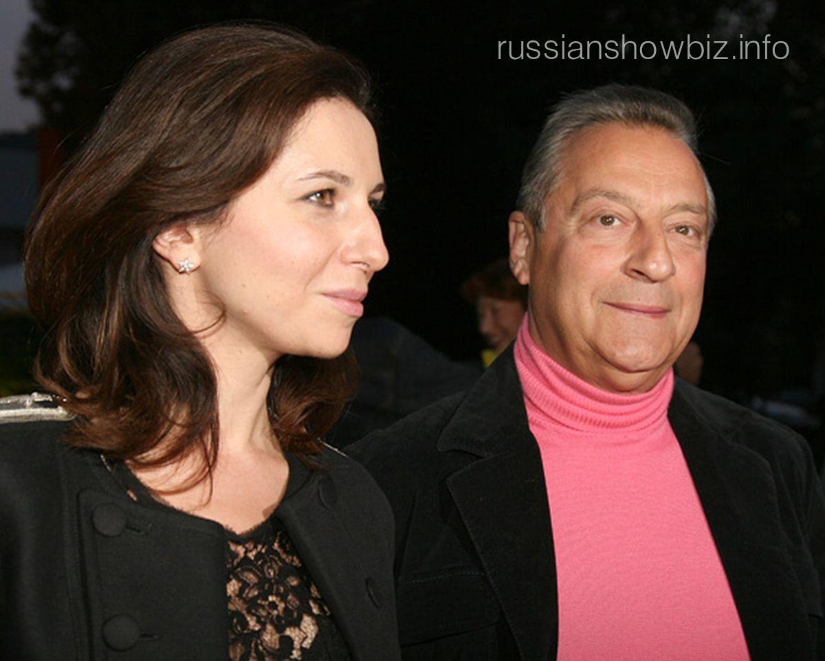 Геннадий Хазанов с дочерью Алисой
