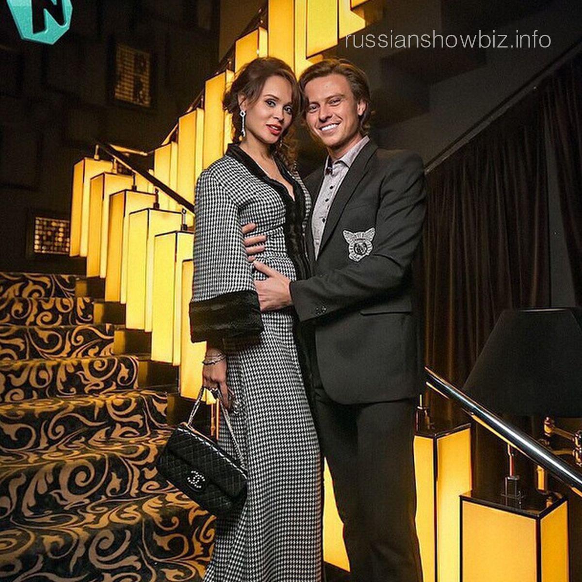 Прохор Шаляпин с настоящей возлюбленной Анной Калашниковой