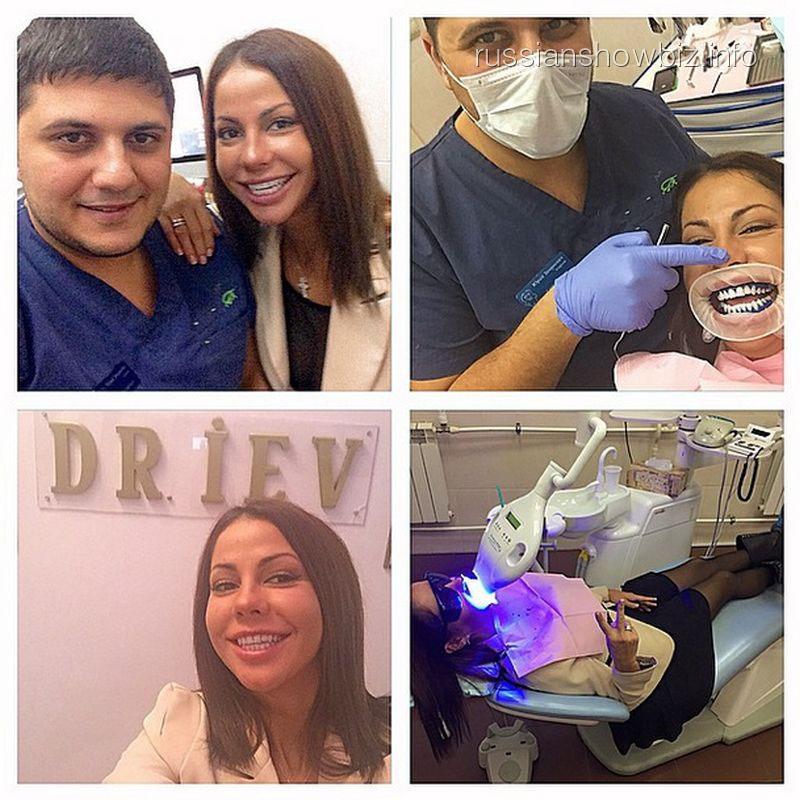 Елена Беркова в стоматологии