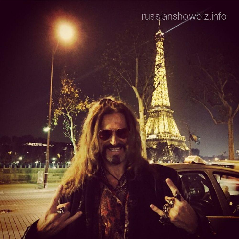 Никита Джигурда в Париже