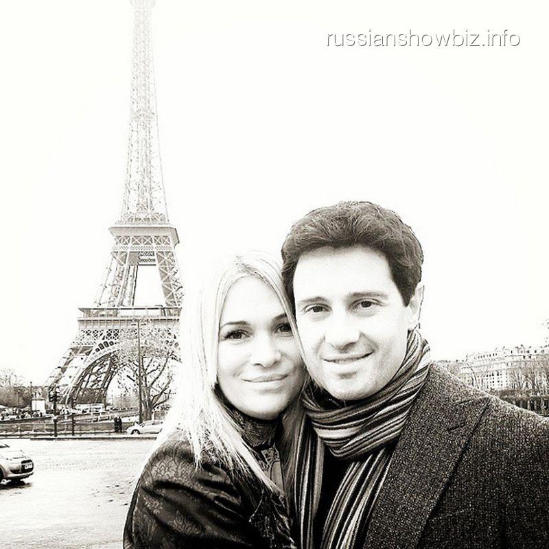 Антон и Виктория Макарские в Париже