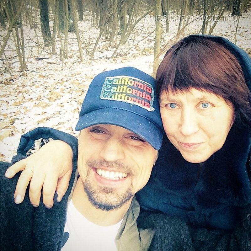 Дима Билан с мамой