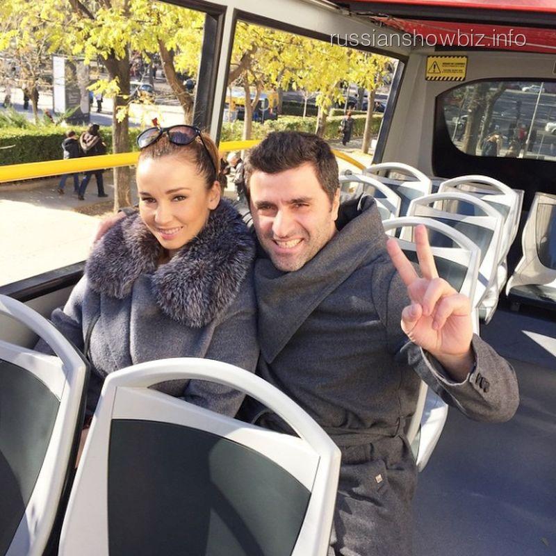 Анфиса Чехова и Гурам Баблишвили в Мадриде