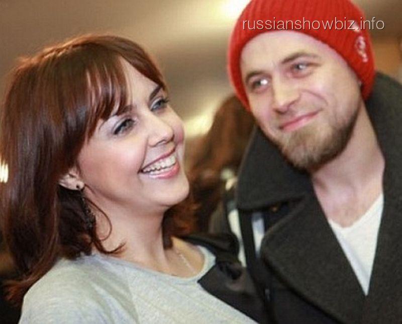 Ольга Шелест с мужем Алексеем