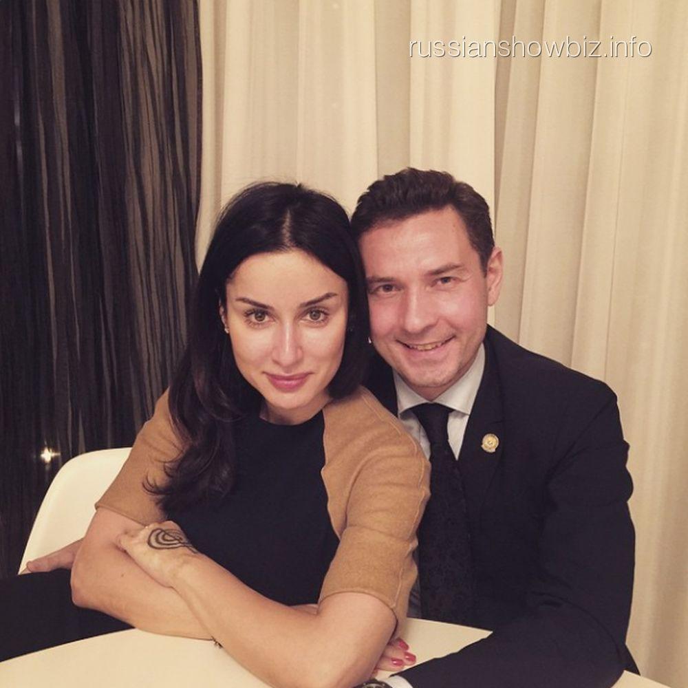 Тина Канделаки и Владимир Леонов