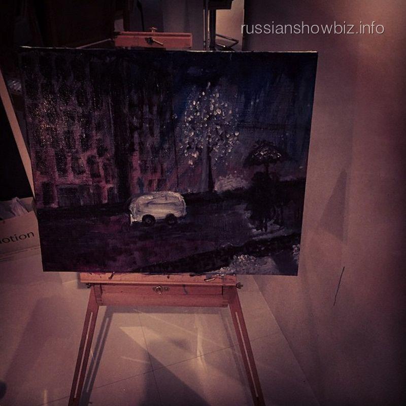 Картина Маши Малиновской