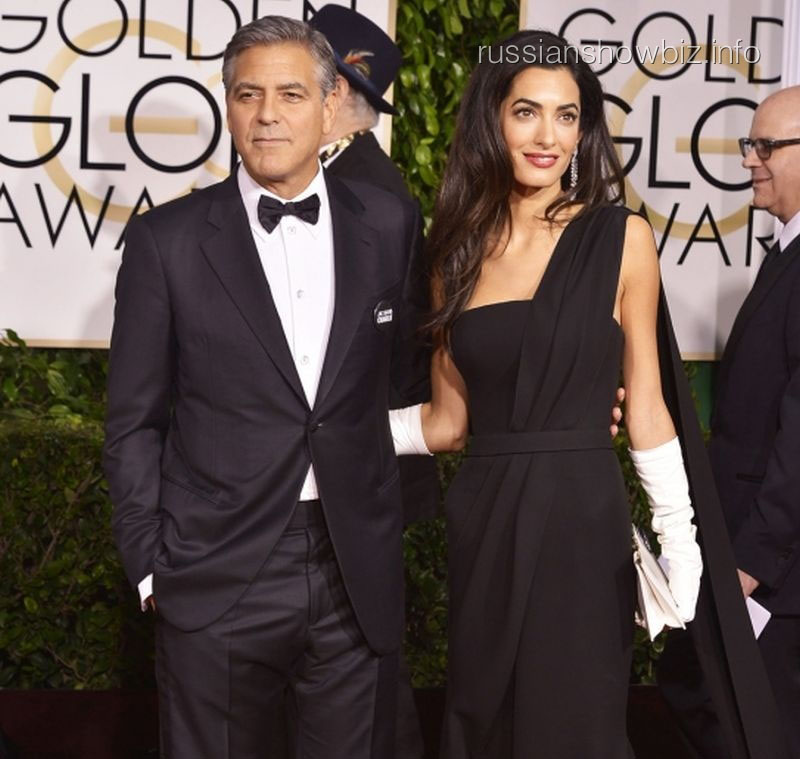 Джордж Клуни с супругой Амаль