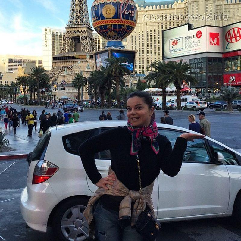 Наташа Королева в Лас-Вегасе