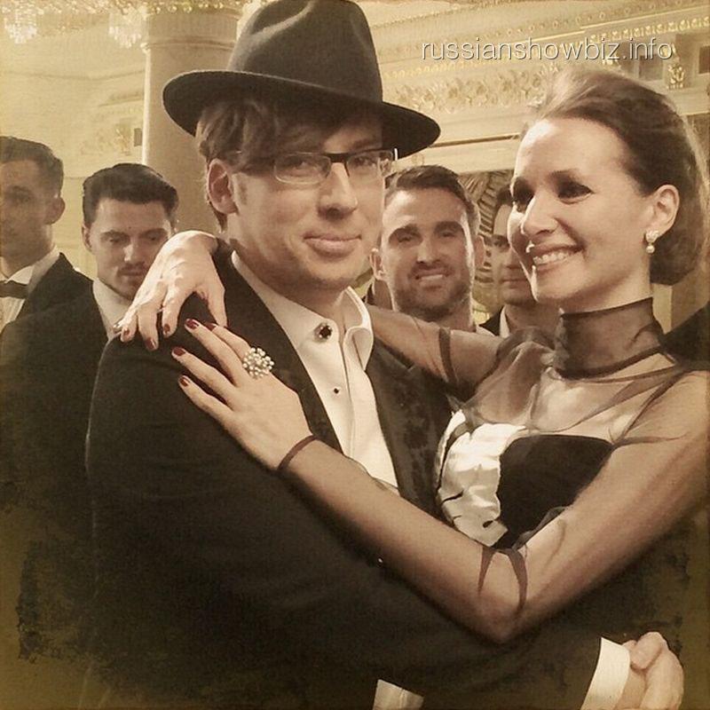 Максим Галкин и Дарья Спиридонова
