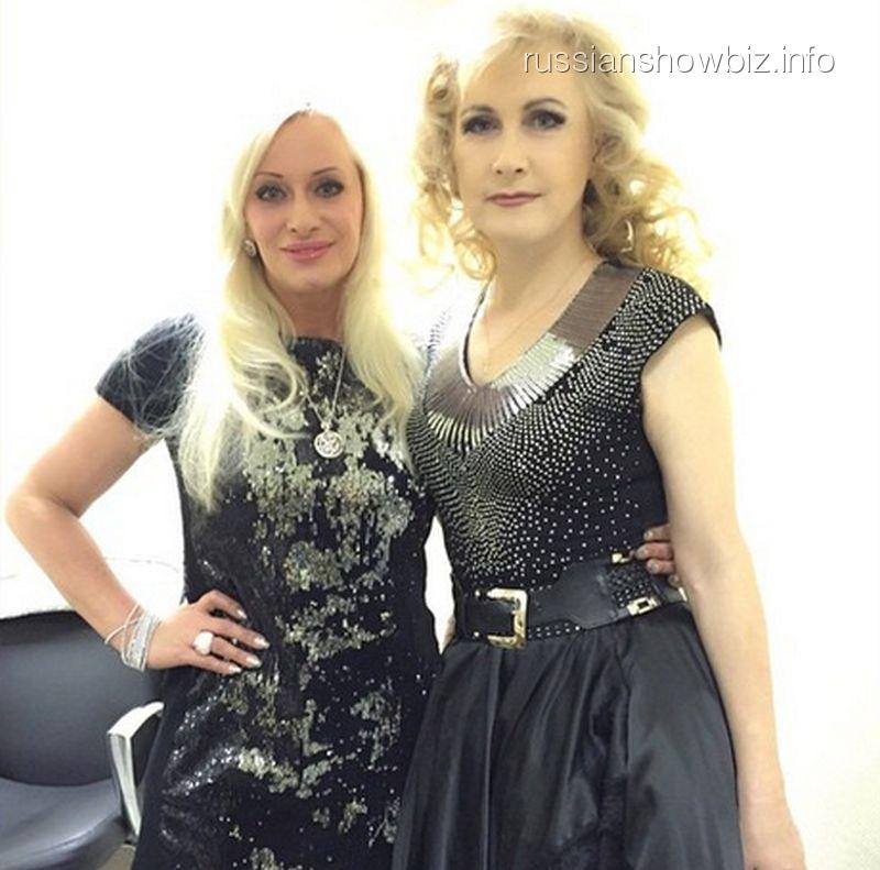 Похудевшая Наталья Гулькина и Светлана Разина