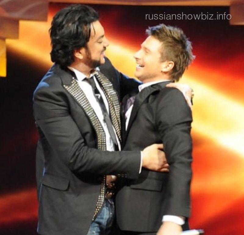 Филипп Киркоров и Сергей Лазарев (фото - Руслан Рощупкин)