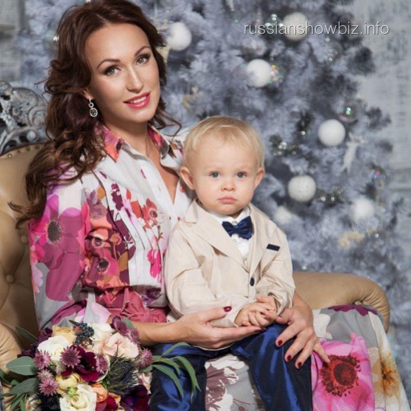 Екатерина Малафеева с сыном