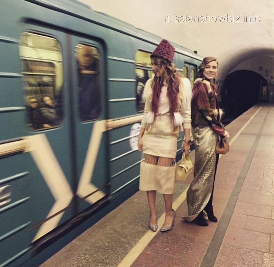 Ксения Собчак и Елена Замятина
