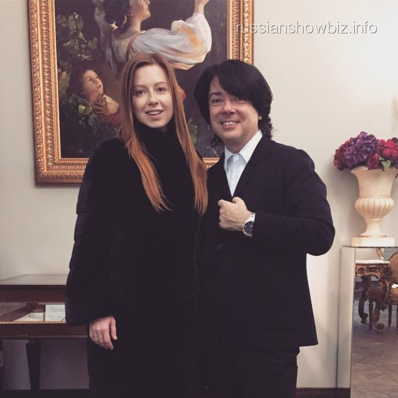 Юлия Савичева и Валентин Юдашкин