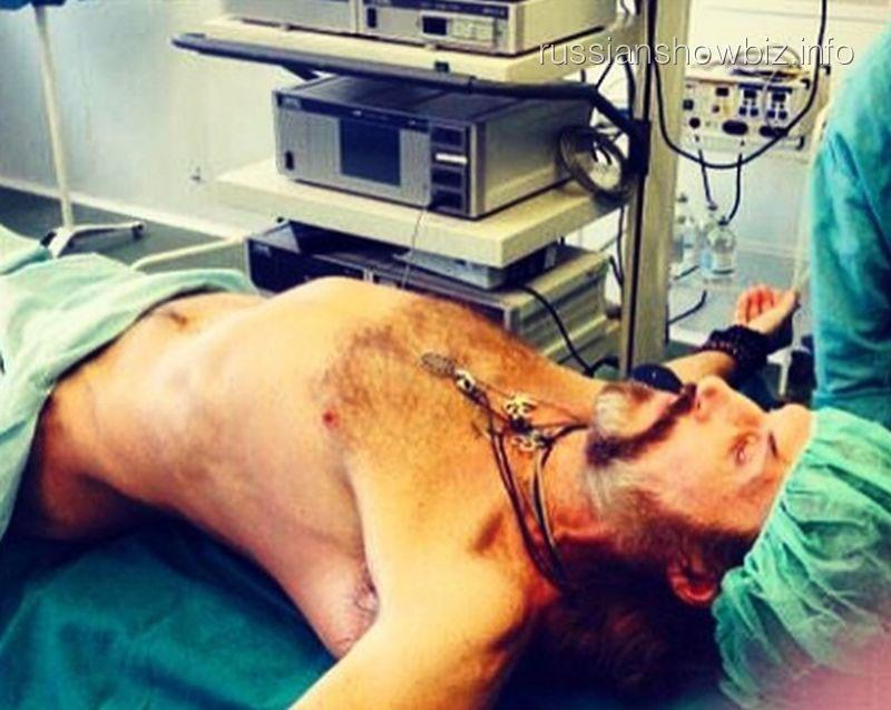 Никита Джигурда в больнице