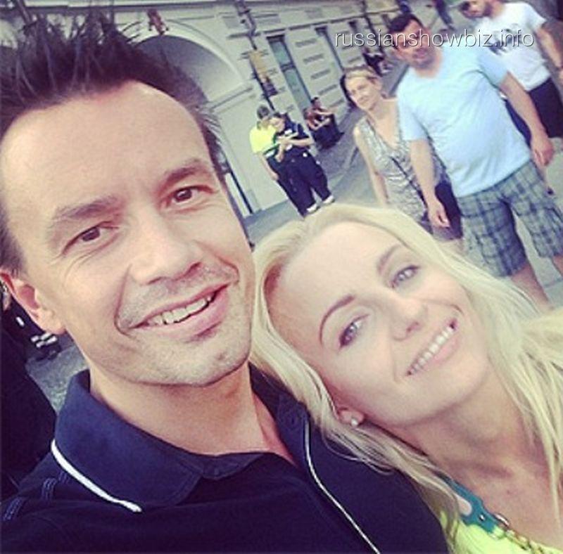 Алексей Серов с бывшей женой