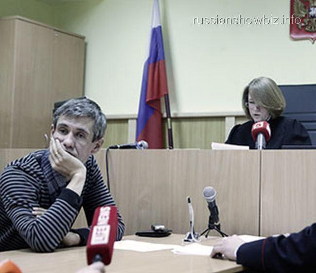 Алексей Панин в суде