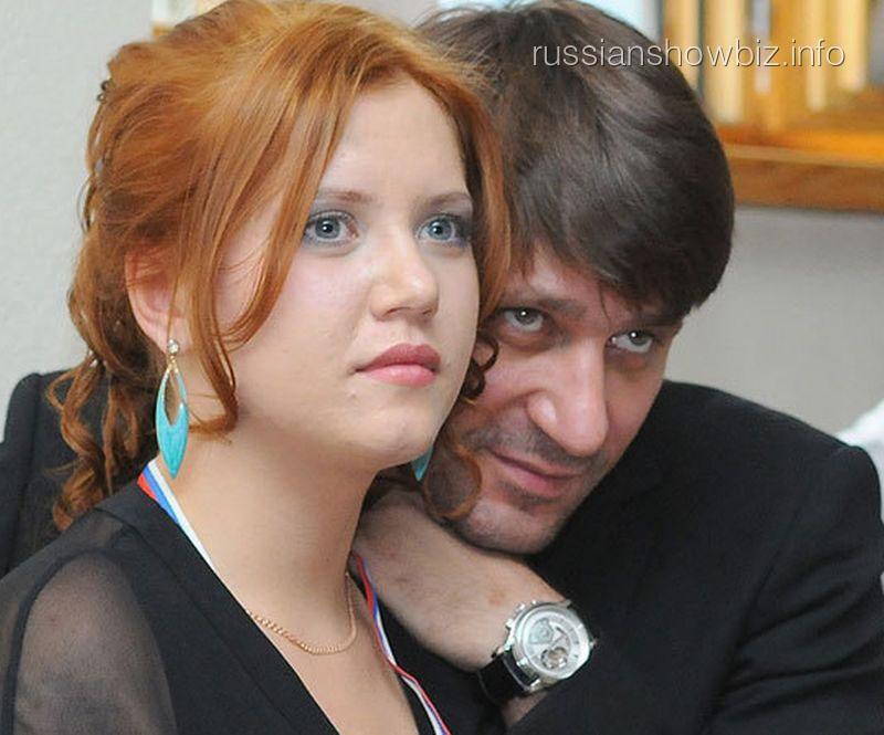 Виктор Логинов с дочерью