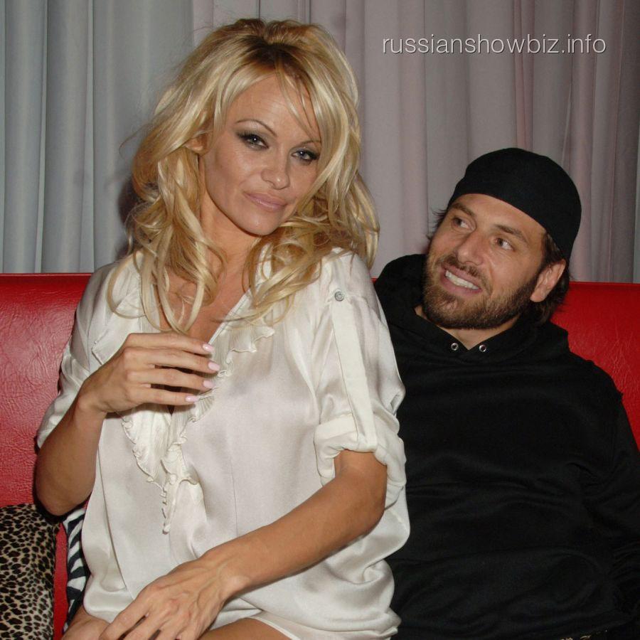 Памела Андерсон и Рик Саломон