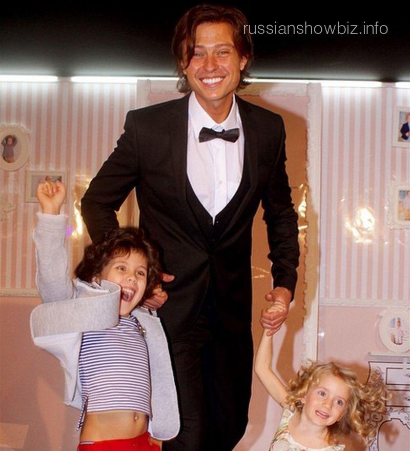 Прохор Шаляпин с детьми