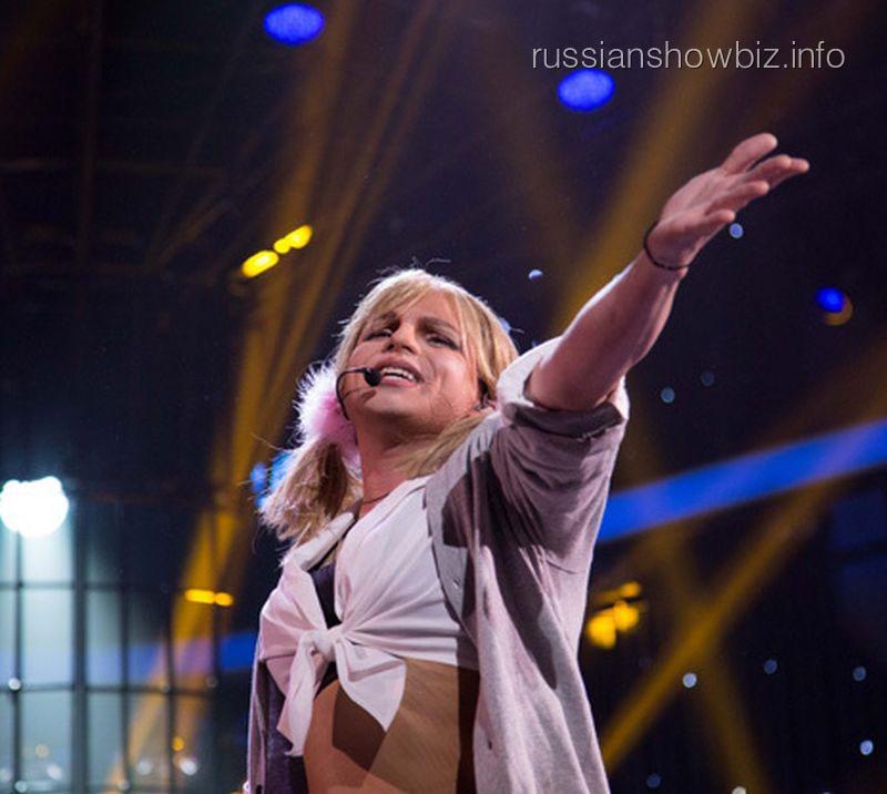 Никита Малинин в образе Бритни Спирс (фото - ЭГ)