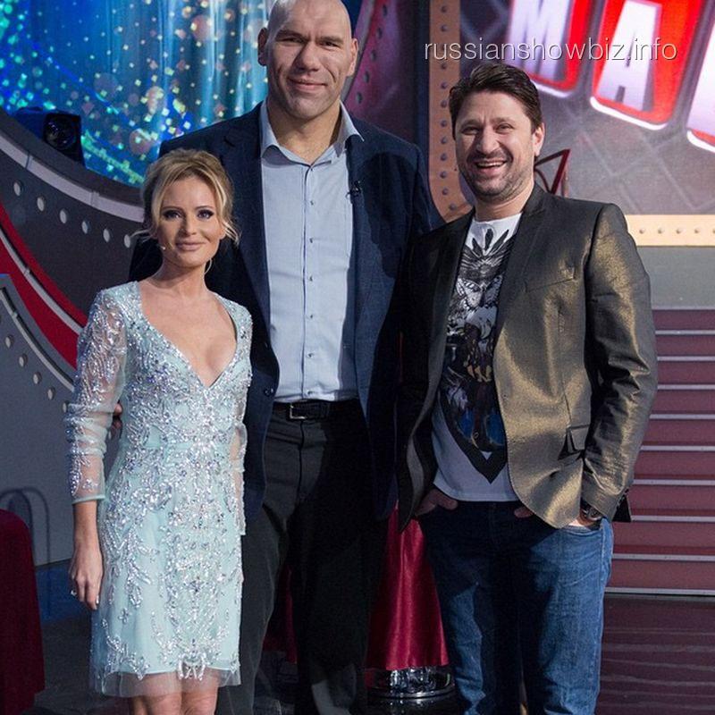 Дана Борисова, Николай Валуев и Виктор Логинов