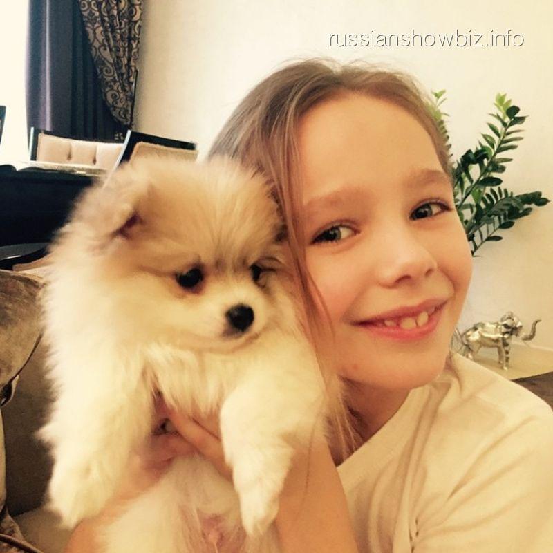 Дочь Юлии Началовой с новым домашним питомцем