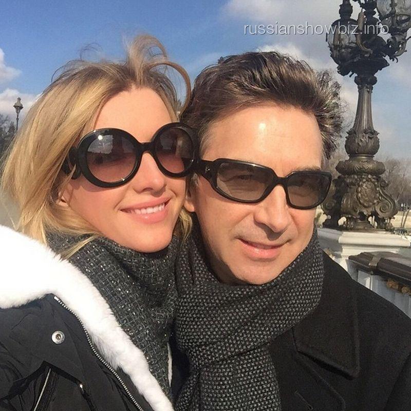 Валерий Сюткин с женой Виолеттой