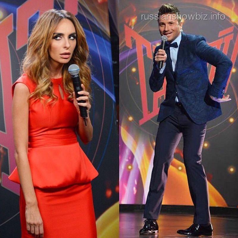 Екатерина Варнава и Сергей Лазарев