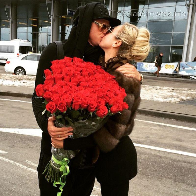 Ольга Бузова с мужем