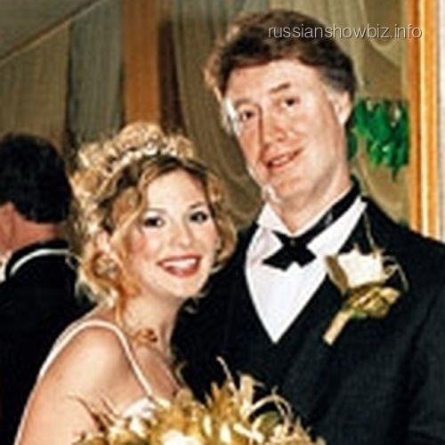 Лариса Черникова с мужем