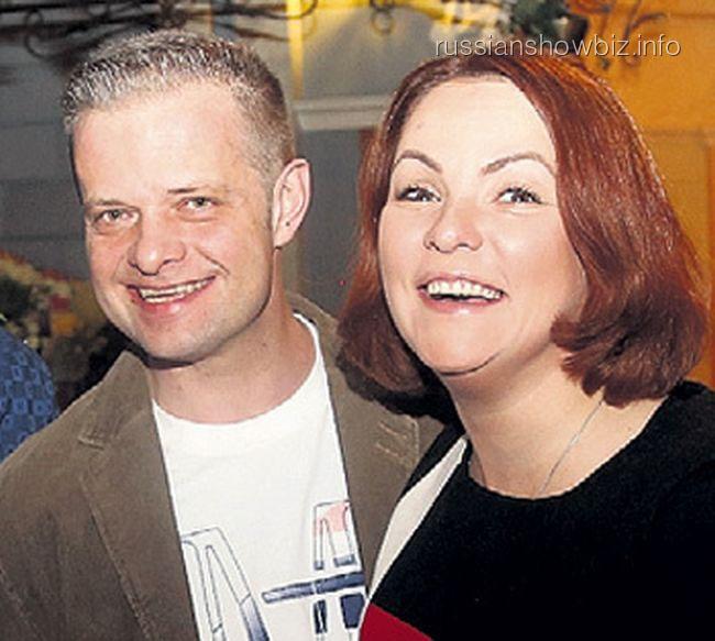 Роман Рябцев с супругой Мариной