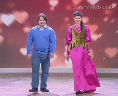 Сын Розы Сябитовой с избранницей