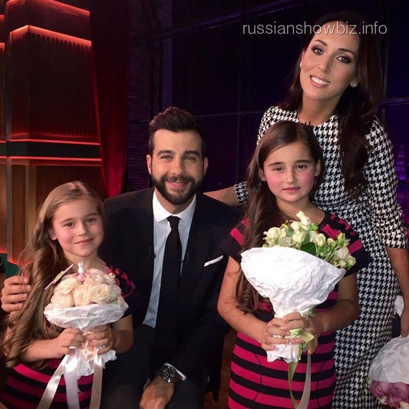 Алсу с дочками в гостях у Ивана Урганта