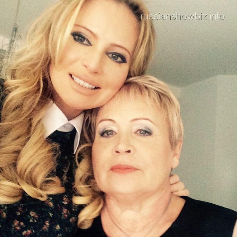 Дана Борисова с мамой
