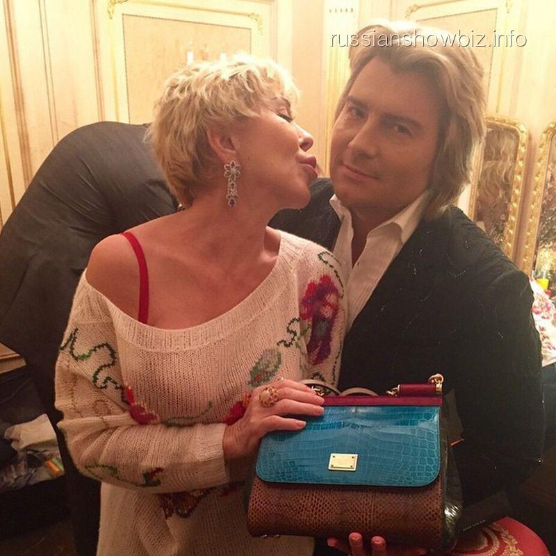 Любовь Успенская и Николай Басков