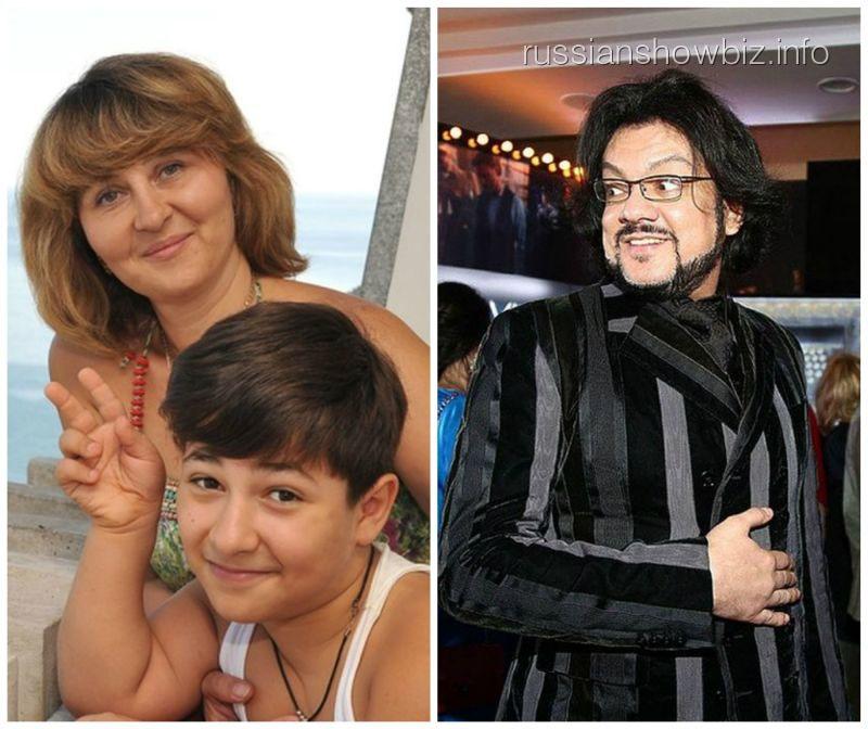 Андраник Алексанян с мамой и Филипп Киркоров
