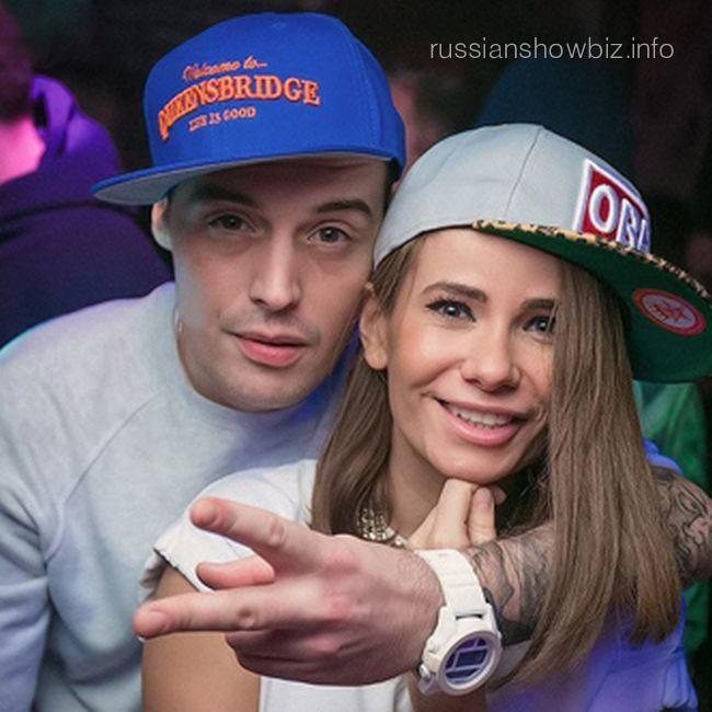 Рэпер Гуф и Айза Долматова