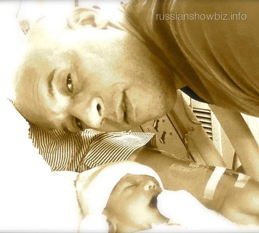 Вин Дизель с дочкой