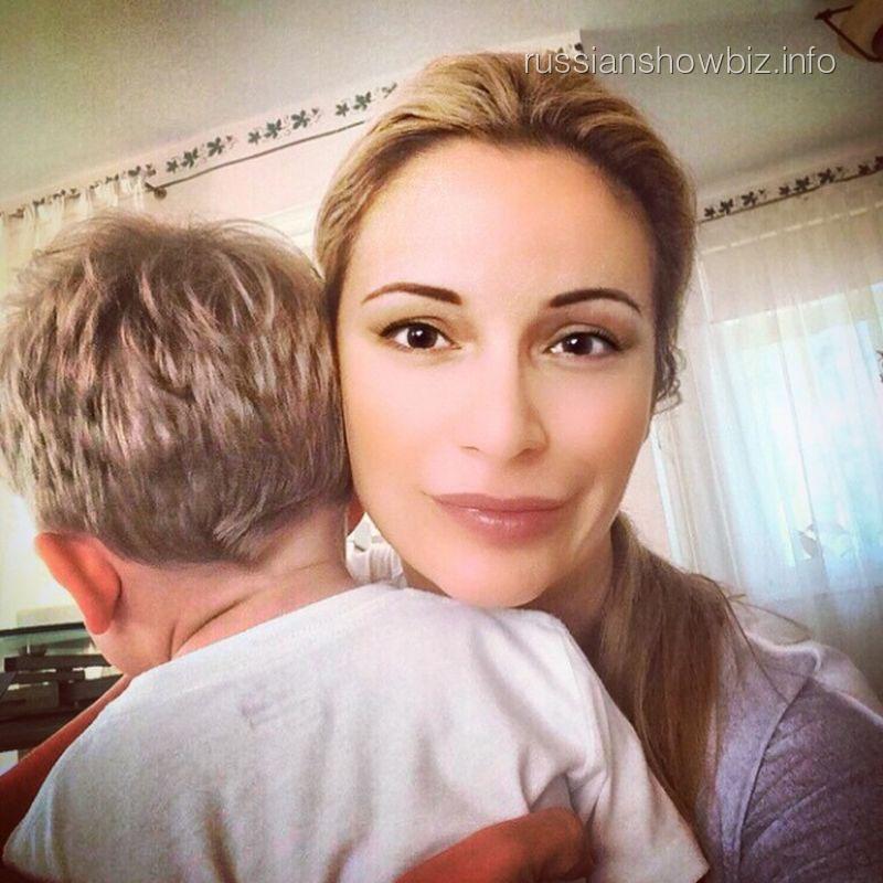 Ольга Орлова с сыном Жанны Фриске