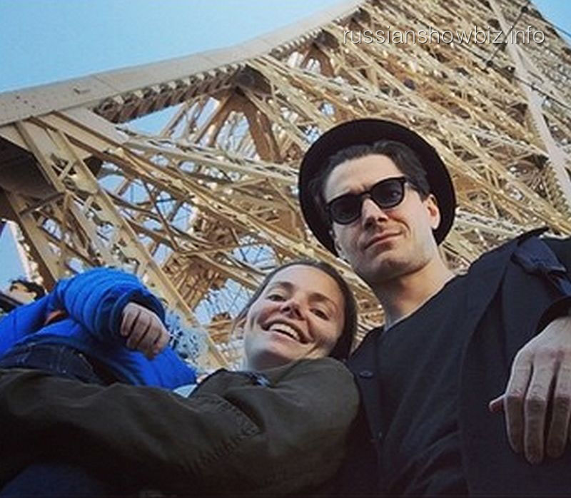 Лиза Боярская и Максим Матвеев с сыном