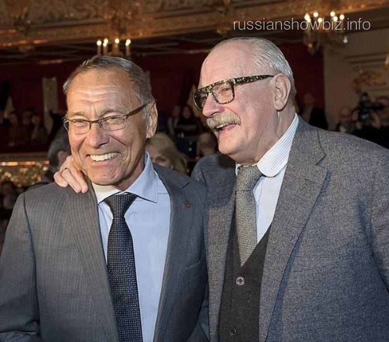 Андрей Кончаловский и Никита Михалков