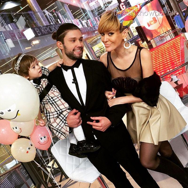 Слава Никитин и Таня Терешина с дочкой