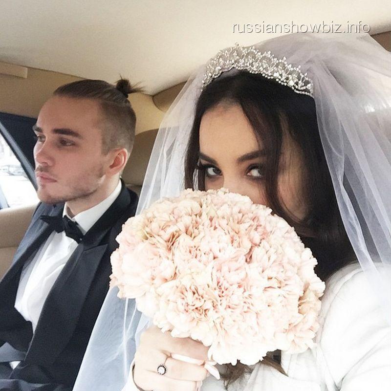 Виктория Дайнеко с мужем