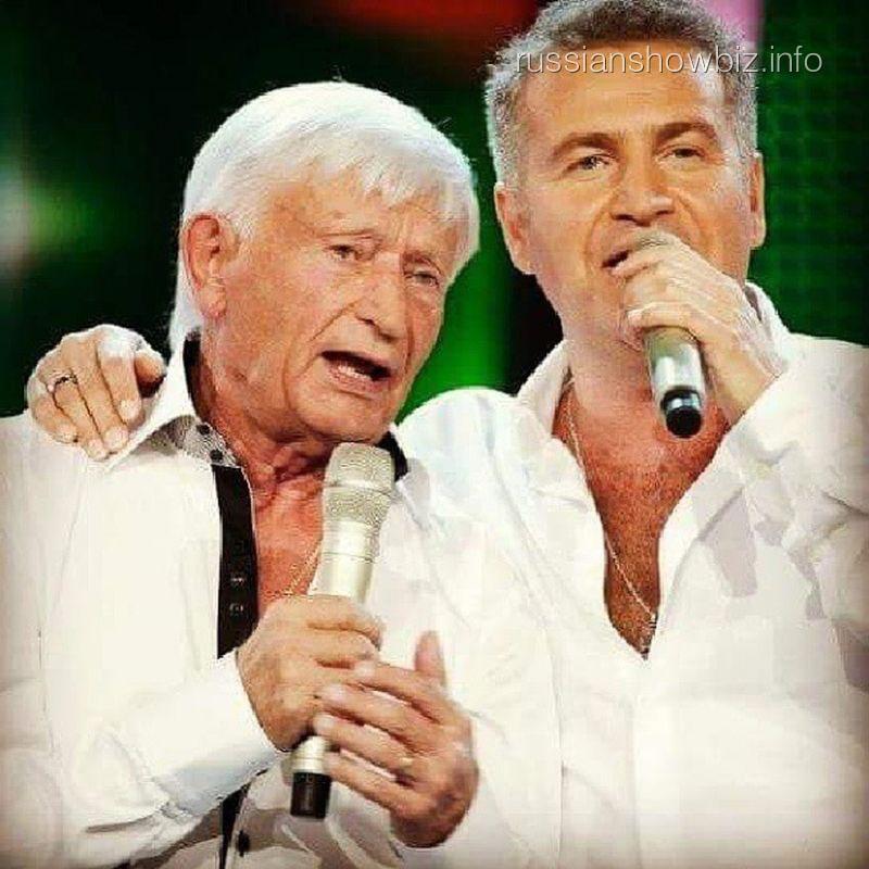 Леони Агутин с отцом