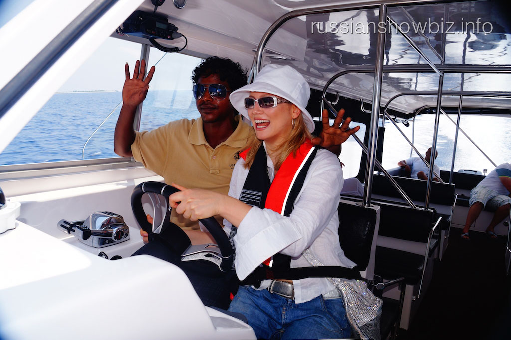 Лена Ленина в Индийском океане