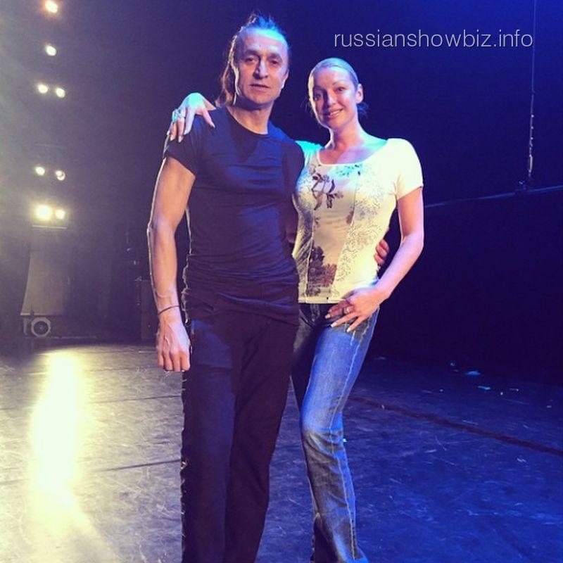 Фарух Рузиматов и Анастасия Волочкова