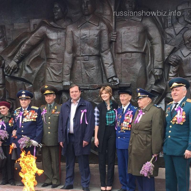 Мария Кожевникова с ветеранами